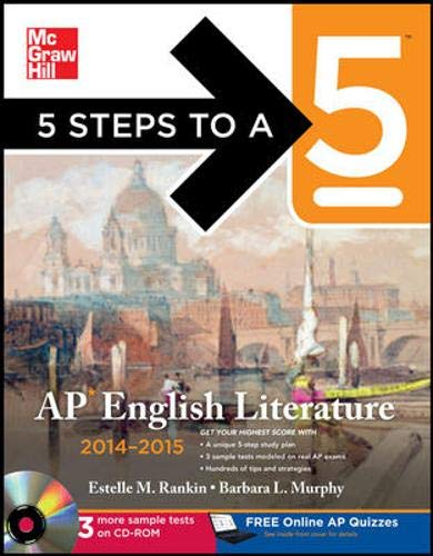 9780071803847: 5 Steps to a 5 AP English Literature with CD-ROM, 2014-2015 Edition (5 Steps to a 5 on the Advanced Placement Examinations Series)