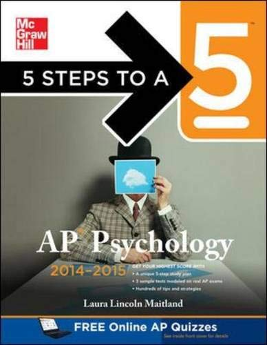 9780071803922: 5 Steps to a 5 AP Psychology, 2014-2015 Edition (5 Steps to a 5 on the Advanced Placement Examinations Series)
