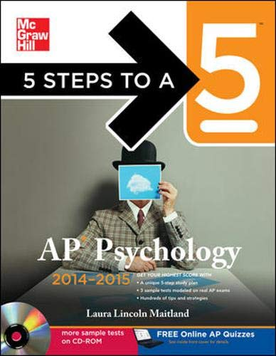9780071803977: 5 Steps to a 5 AP Psychology with CD-ROM, 2014-2015 Edition (5 Steps to a 5 on the Advanced Placement Examinations Series)
