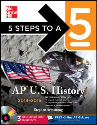 9780071804059: 5 Steps to a 5 AP US History with CD-ROM, 2014 Edition (5 Steps to a 5 on the Advanced Placement Examinations Series)