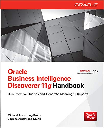9780071804301: Oracle Business Intelligence Discoverer 11g Handbook