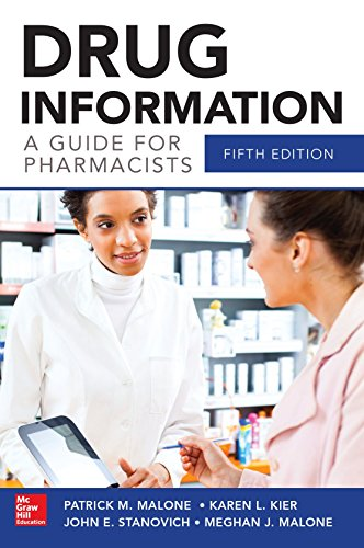 9780071804349: Drug Information A Guide for Pharmacists 5/E (Malone, Drug Information)