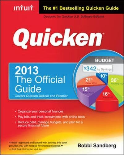 9780071804431: Quicken 2013 The Official Guide (Quicken Press)