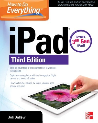 9780071804516: How to Do Everything: iPad, 3rd Edition: covers 3rd Gen iPad