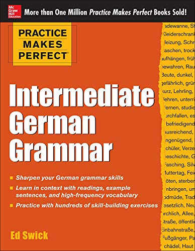 9780071804776: Practice Makes Perfect Intermediate German Grammar