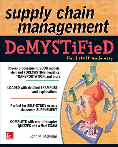 9780071805124: Supply Chain Management Demystified
