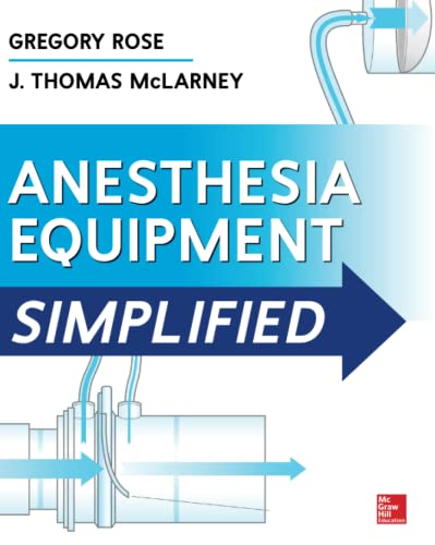 9780071805186: Anesthesia Equipment Simplified (Anesthesia/Pain Medicine)