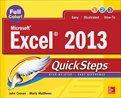 9780071805896: Microsoft® Excel® 2013 QuickSteps