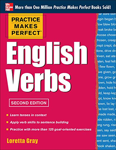 9780071807357: Practice Makes Perfect English Verbs, 2nd Edition: With 125 Exercises + Free Flashcard App (English Dictionary)
