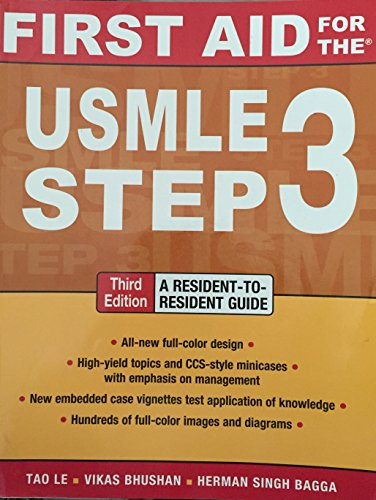 9780071807531: First Aid for the USMLE Step 3