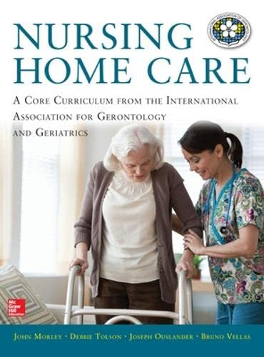 9780071807654: Nursing Home Care (Medical/Denistry)
