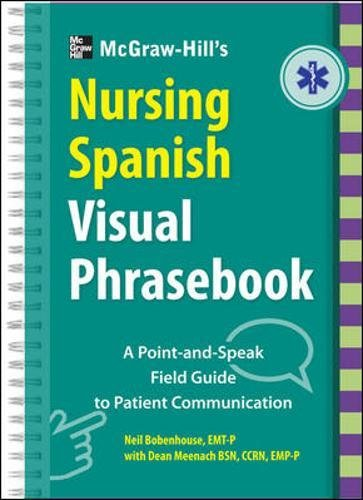 9780071808903: McGraw-Hill Education's Nursing Spanish Visual Phrasebook (NTC Foreign Language)