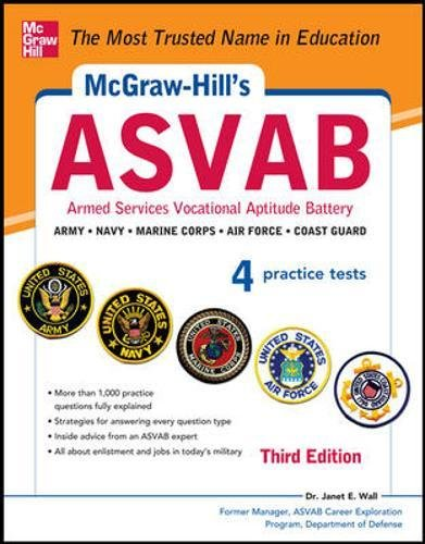 9780071809207: McGraw-Hill's ASVAB, 3rd Edition: Strategies + 4 Practice Tests
