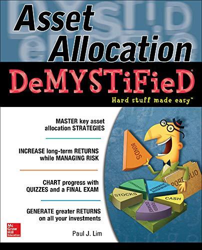 9780071809771: Asset Allocation DeMystified: A Self-Teaching Guide