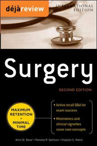9780071809849: Deja Review Surgery