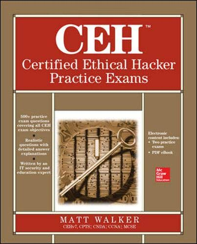 9780071810265: CEH Certified Ethical Hacker Practice Exams