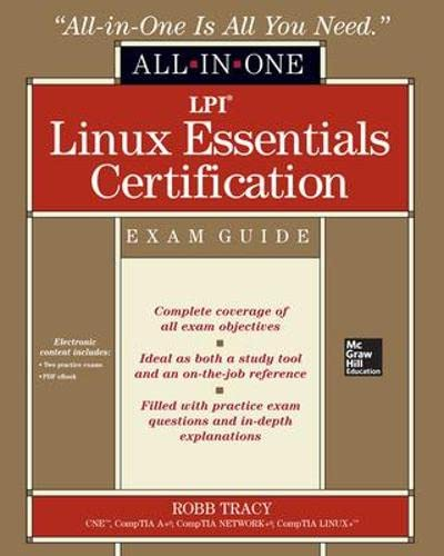 9780071811019: LPI Linux essentials certification. All-in-one exam guide (Informatica)