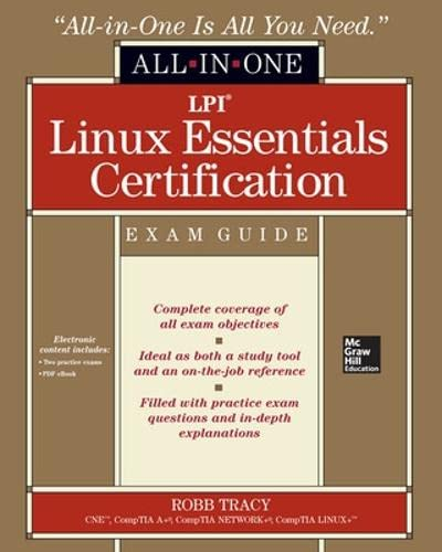 9780071811019: LPI Linux essentials certification. All-in-one exam guide