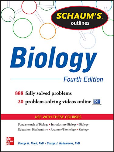 9780071811309: Schaum's Outline of Biology: 865 Solved Problems + 25 Videos (Schaum's Outlines)