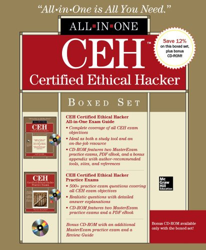 9780071811705: CEH Certified Ethical Hacker Boxed Set (All-In-One)