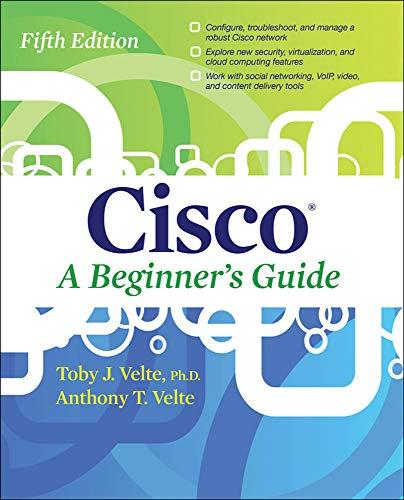 9780071812313: Cisco a beginner's guide