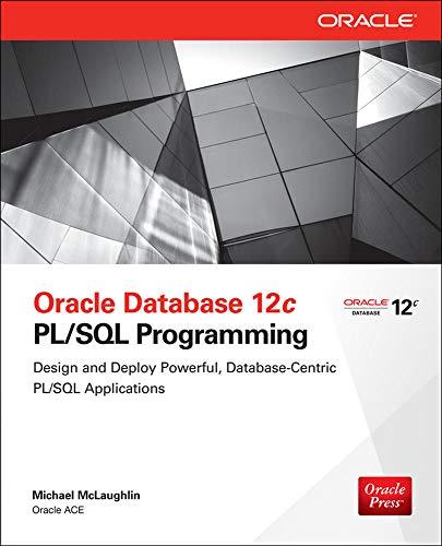9780071812436: Oracle Database 12c PL/SQL Programming
