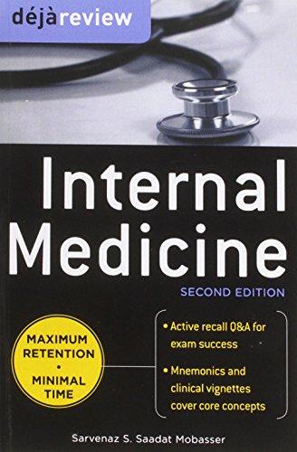 9780071813754: Deja Review Internal Medicine