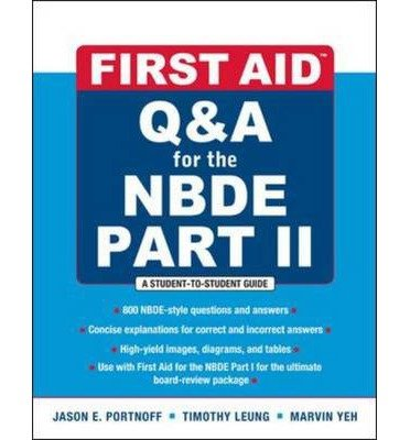 9780071813778: First Aid Q&A for the NBDE PartII