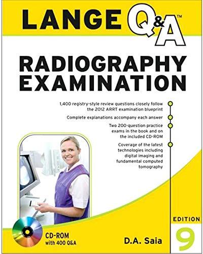9780071813785: Lange Q&A Radiography Examination