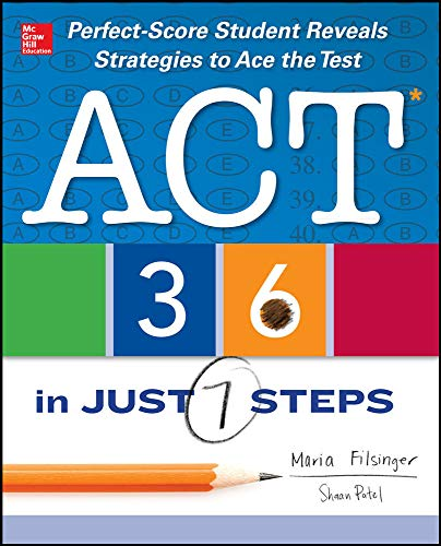 9780071814416: ACT 36 in Just 7 Steps