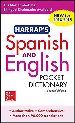 9780071814461: Harrap's Spanish and English Pocket Dictionary (Harrap's Dictionaries)