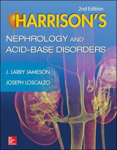 9780071814966: Harrison's Nephrology and Acid-Base Disorders, 2e