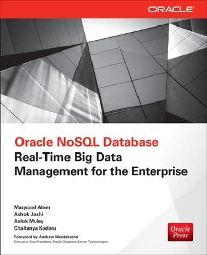 9780071816533: Oracle NoSQL Database: Real-Time Big Data Management for the Enterprise