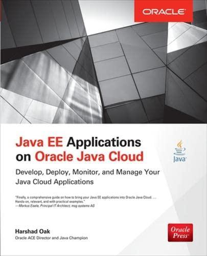 9780071817158: Java EE Applications on Oracle Java Cloud: (Oracle Press)