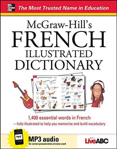 9780071817301: McGraw-Hill's French Illustrated Dictionary