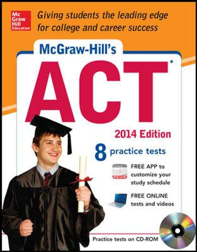 9780071817332: McGraw-Hill's ACT 2014 with CD-ROM (McGraw-Hill's ACT (W/CD))