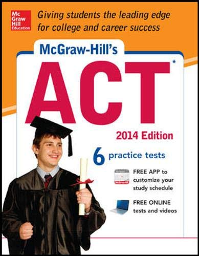 9780071817349: McGraw-Hill's ACT, 2014 Edition