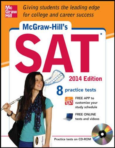 9780071817363: McGraw-Hill's SAT with CD-ROM, 2014 Edition (Mcgraw Hill Education Sat)