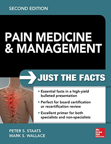 9780071817455: Pain Medicine and Management: Just the Facts, 2e (A & L Review)