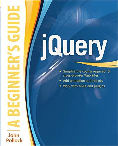 9780071817912: jQuery: A Beginner's Guide