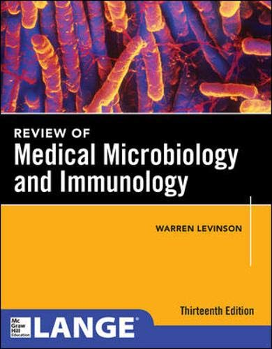9780071818117: Review of Medical Microbiology and Immunology (Lange Medical Books)