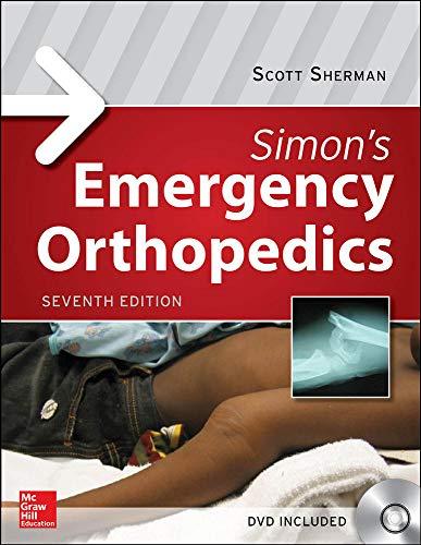 9780071819671: Simon's Emergency Orthopedics (Medical/Denistry)