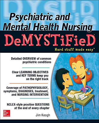 9780071820523: Psychiatric and Mental Health Nursing Demystified (Demystified Nursing)