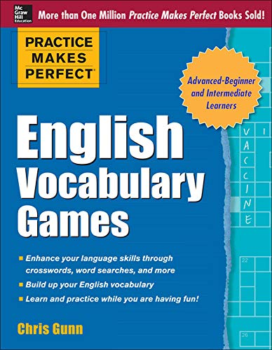9780071820721: Practice Makes Perfect English Vocabulary Games (Practice Makes Perfect Series)