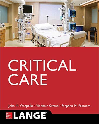 9780071820813: Lange Critical Care