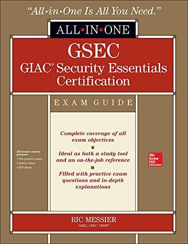 9780071820912: GSEC GIAC Security Essentials Certification Exam Guide