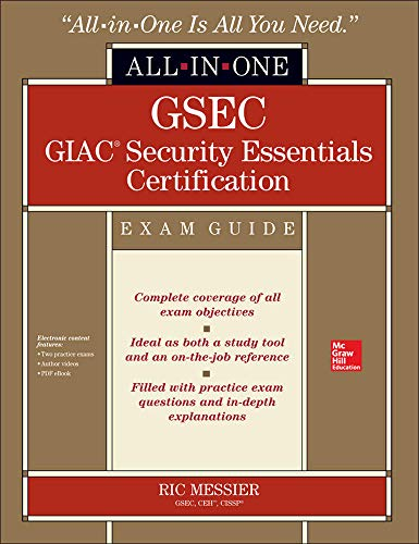 9780071820912: GSEC GIAC Security Essentials Certification All-in-One Exam Guide