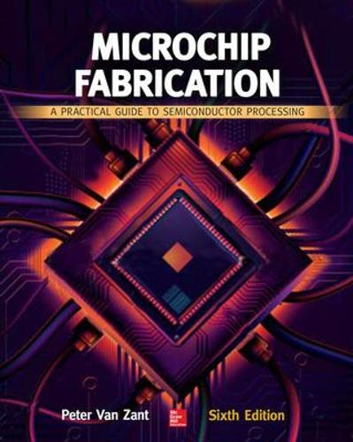 9780071821018: Microchip Fabrication, Sixth Edition: A Practical Guide to Semiconductor Processing