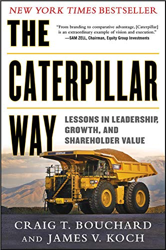 9780071821247: The Caterpillar Way: Lessons in Leadership, Growth, and Shareholder Value (Business Books)