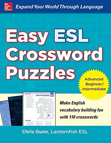 9780071821346: Easy ESL Crossword Puzzles